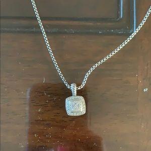 David Yurman Petite Albion Diamond Necklace